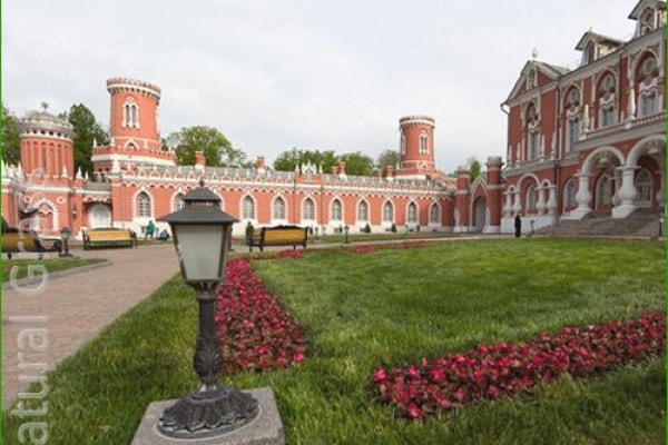 Газон в Петровского парке