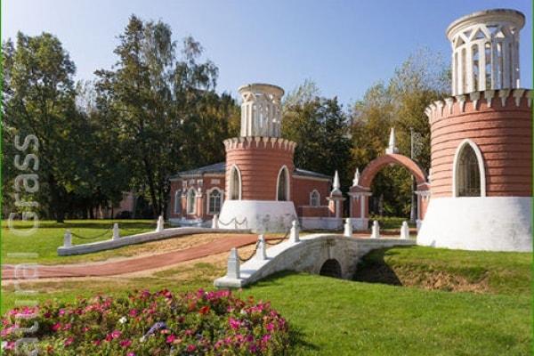 Газон Воронцовского парка