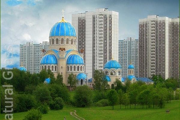 Газон в парке «Борисовские пруды»