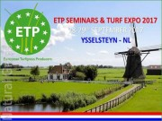 ETP Seminars & Turf Expo 2017